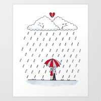 Love Stories  Art Print