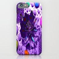 Purple Blossom iPhone 6 Slim Case