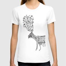 Dream Womens Fitted Tee White SMALL