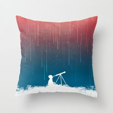 Meteor Rain (light Versi… Throw Pillow