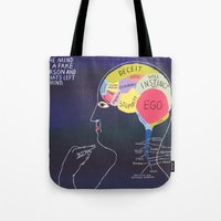 THE MIND OF A FAKE PERSO… Tote Bag