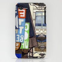 iPhone Cases featuring Melbourne Street Scene by Fine Arts by Erin