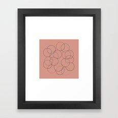 #14 Multi-color-circles Framed Art Print