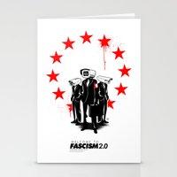 fascism 2.0 Stationery Cards