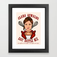 Clara Oswald's Easy Souffle Mix Framed Art Print