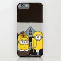 iPhone & iPod Case featuring Minion Gothic by le.duc