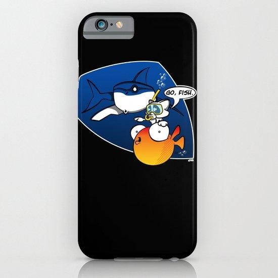 GO, FISH! iPhone & iPod Case