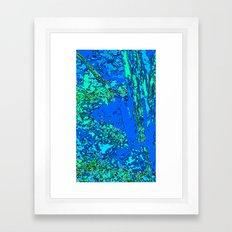 Sea of Turmoil  Framed Art Print
