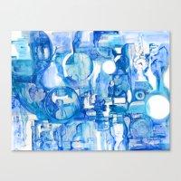 blue III Canvas Print