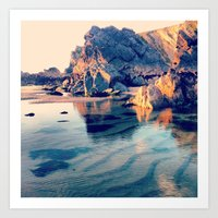 Crystal Clear, Beautiful… Art Print