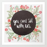 Mean Girls: You Can't Si… Art Print