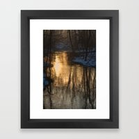 Early Morning Winter Framed Art Print