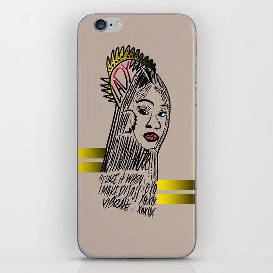 Lady iPhone & iPod Skin