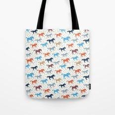 Horse Print Tote Bag