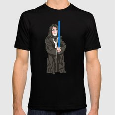 May the force be with you SMALL Black Mens Fitted Tee