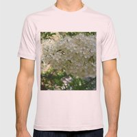Be in a cocoon Mens Fitted Tee Light Pink SMALL