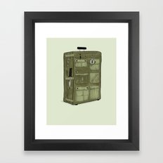 LOST Luggage / John Framed Art Print
