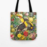 Toucans 2 Tote Bag
