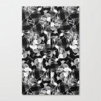 Smplmag Marble Pattern Canvas Print