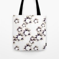 Lace Flower Tote Bag