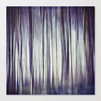 all a blur Canvas Print