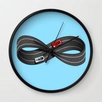 Infinite Slots Wall Clock