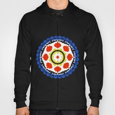 Bold and bright beauty of suzani patterns ver.5 Hoody