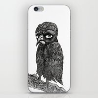 iPhone & iPod Skin featuring Morbid bird by ronnie mcneil