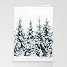 Snow Porn Stationery Cards