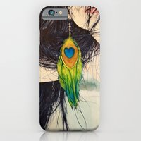 Feather Girl iPhone 6 Slim Case