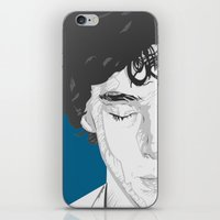 Sherlock Close-Up iPhone & iPod Skin