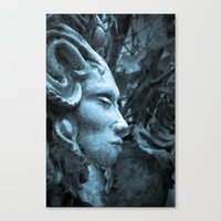 The Stone Forest  Canvas Print