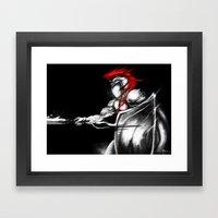 Light's General Framed Art Print