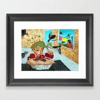Sixpence Framed Art Print
