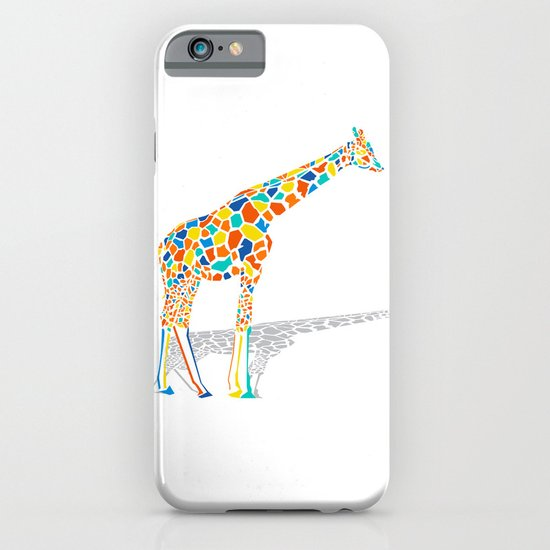 Technicolor Giraffe iPhone & iPod Case