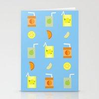 Juice Pattern  Stationery Cards