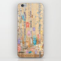 Monster forest iPhone & iPod Skin