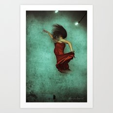 Leaving Behind the Sky Art Print