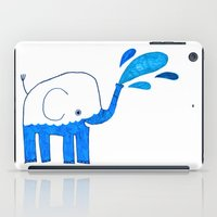Half Empty Elephant iPad Case