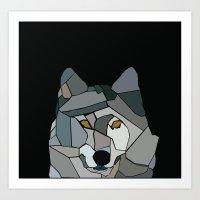 Dark Dulcet  Art Print