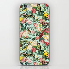 Floral and Birds III iPhone & iPod Skin