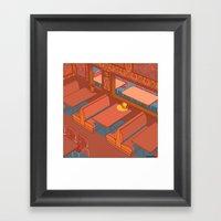 Dots Cafe, Portland Oreg… Framed Art Print