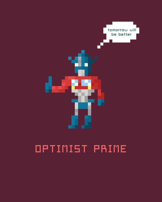 Optimist Prime Canvas Print
