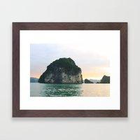 Halong Bay Framed Art Print
