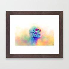 SKULL CANDY Framed Art Print