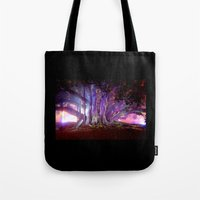 Tree Illuminated Tote Bag