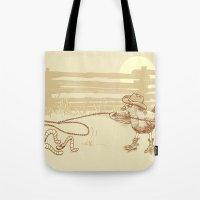 Cowbird Tote Bag