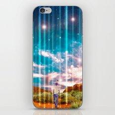 TRAVELLING LIGHTS iPhone & iPod Skin