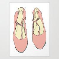 Pretty Shoes Art Print