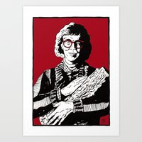 The Log Lady Art Print